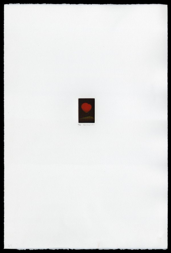14: Yozo Hamaguchi Color Mezzotint