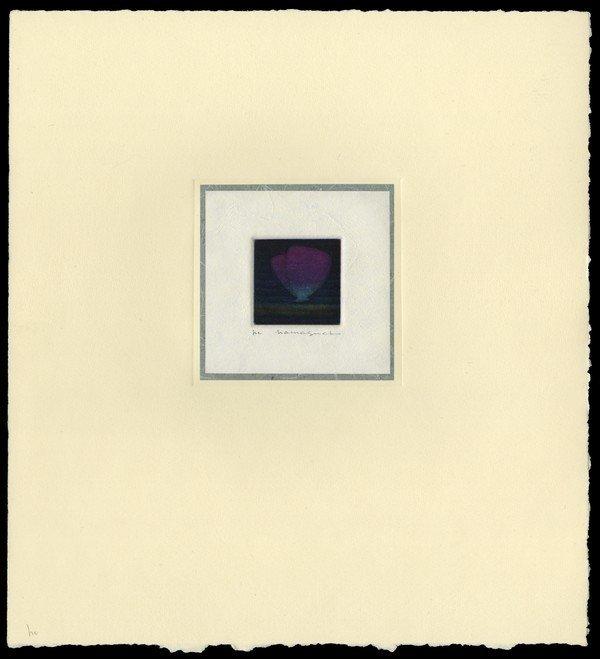 19: Yozo Hamaguchi Color Mezzotint