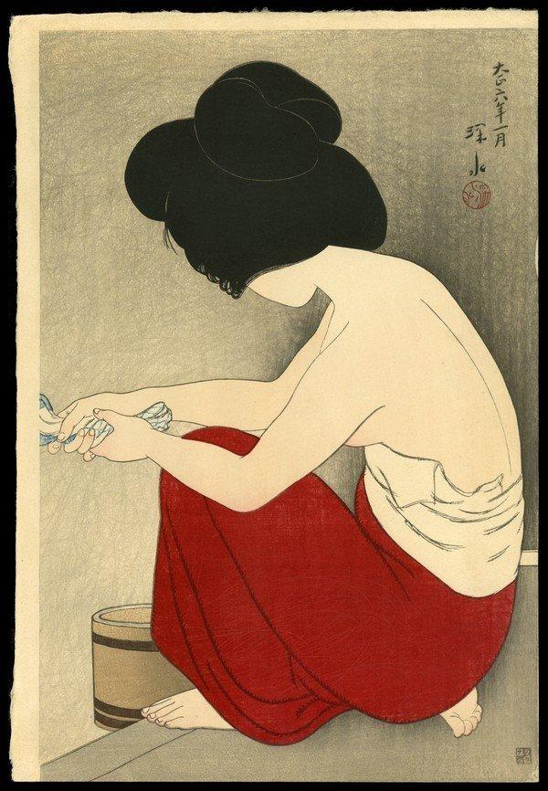 127: Ito Shinsui Woodblock