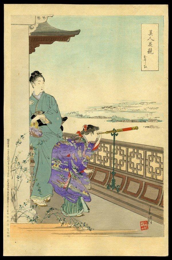 3: Ogata Gekko Woodblock