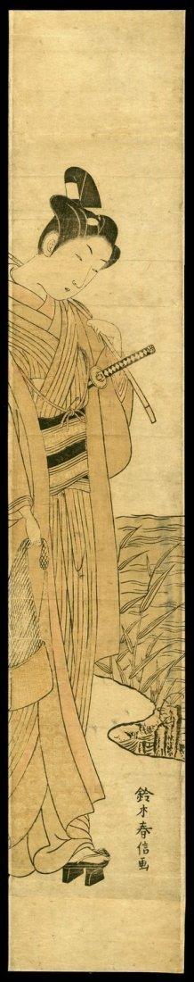 4: Suzuki Harunobu Woodblock