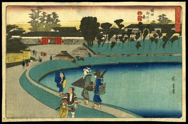 6: Ando Hiroshige Woodblock