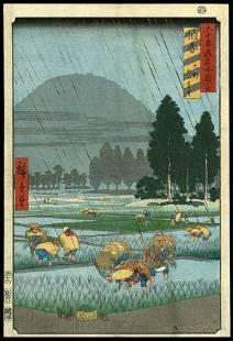 11: Ando Hiroshige Woodblock