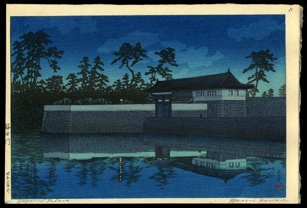 3: Kawase Hasui Woodblock