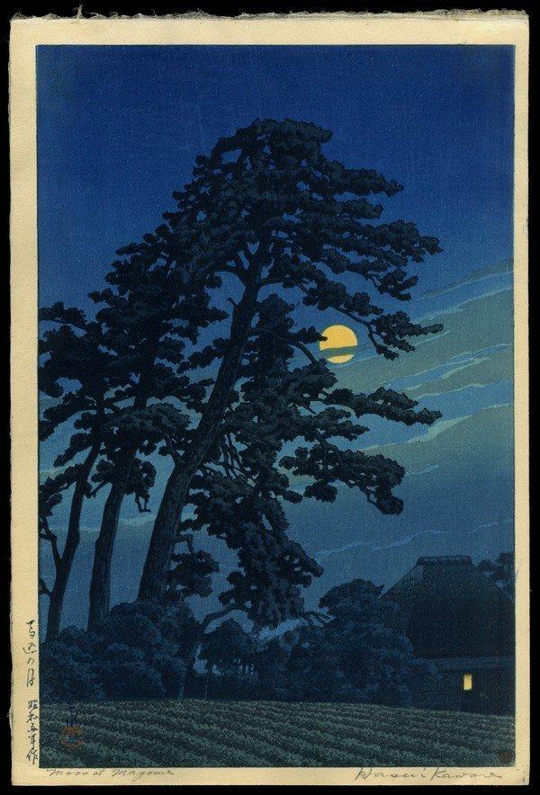 5: Kawase Hasui Woodblock
