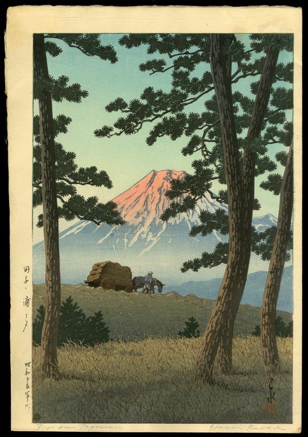 8: Kawase Hasui Woodblock