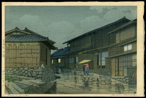 9: Kawase Hasui Woodblock