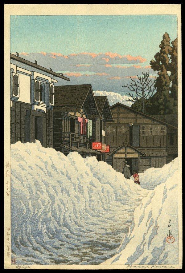 18: Kawase Hasui Woodblock