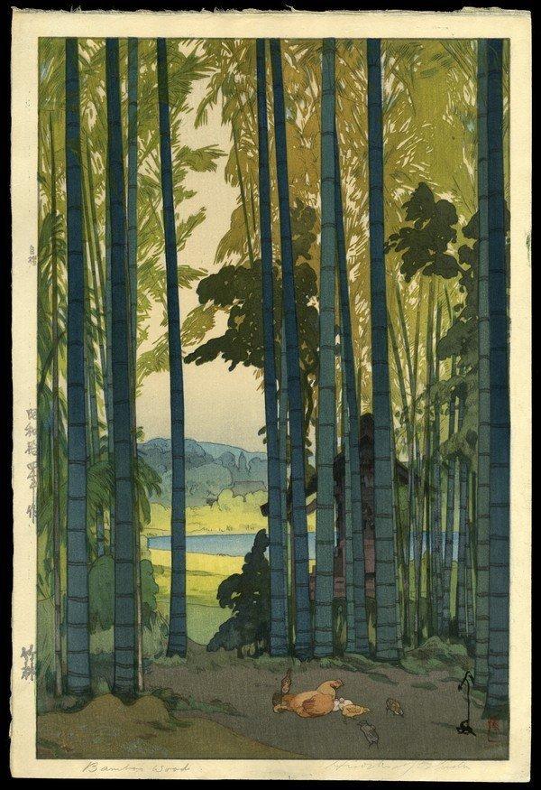 149: Hiroshi Yoshida Woodblock
