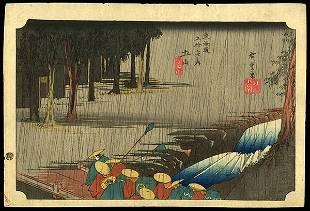 Ando Hiroshige Woodblock