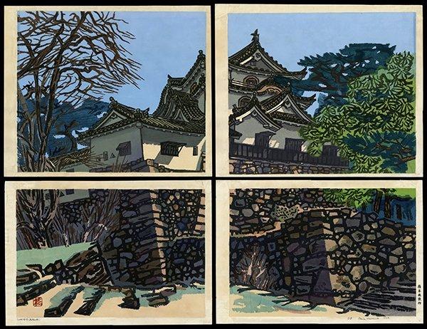 Okiie Hashimoto - Woodblock