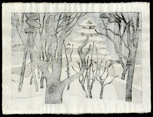 Kiyoshi Saito - Woodblock - 2