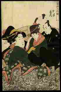 Kitagawa Utamaro - Woodblock
