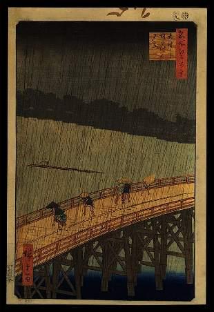Ando Hiroshige - Woodblock
