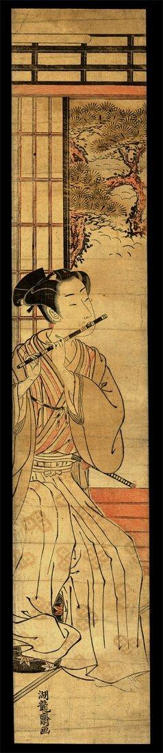 Isoda Koryusai - Woodblock