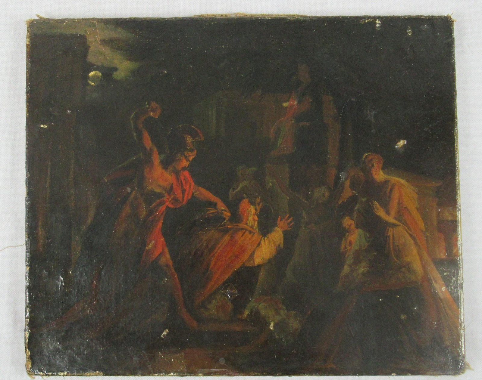 18th/19thC Oil on Canvas