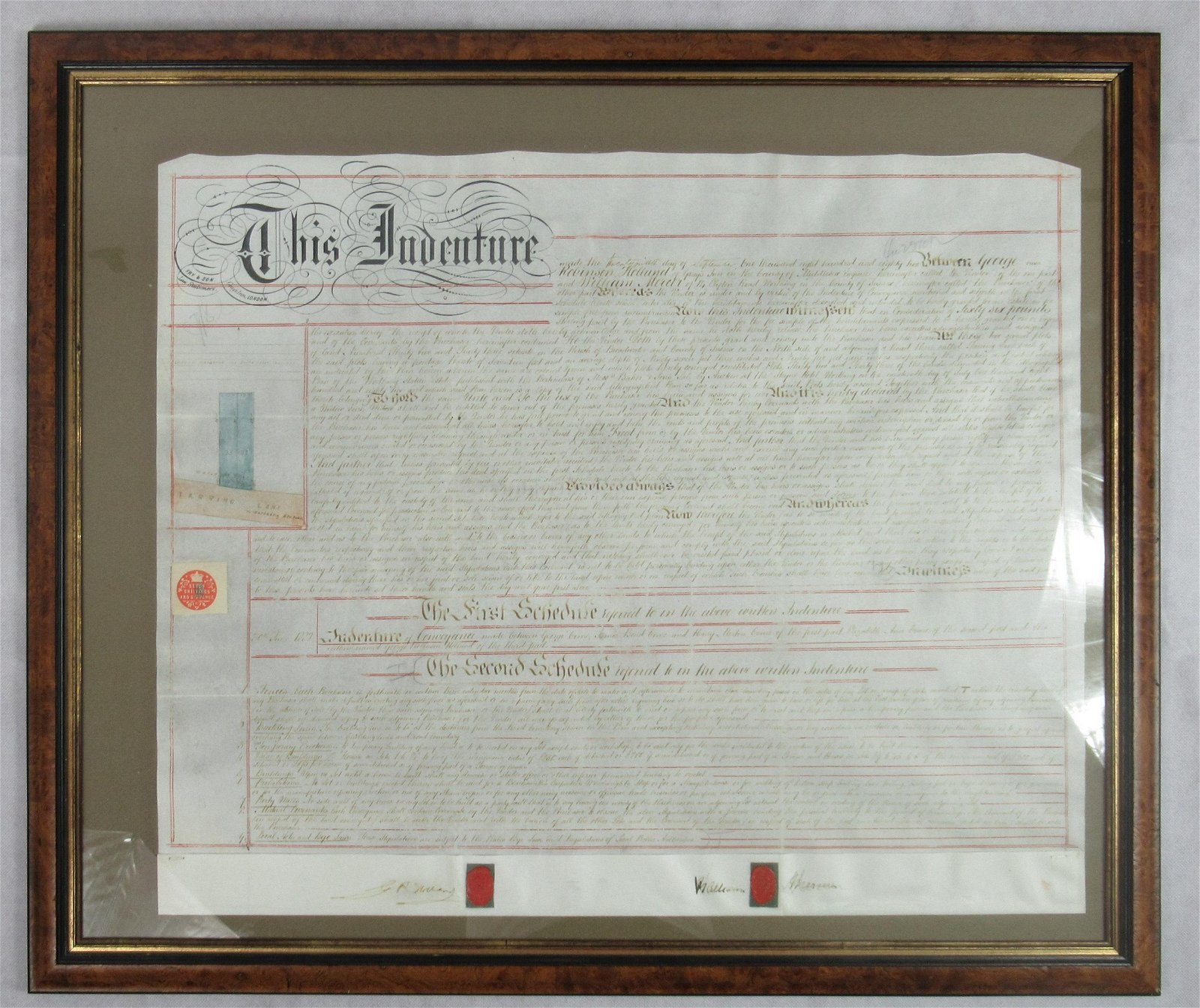 Victorian title deed
