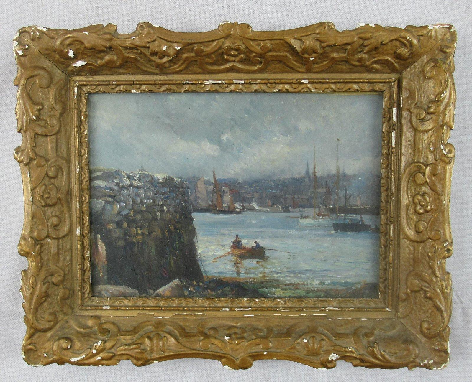 19thC Oil painting
