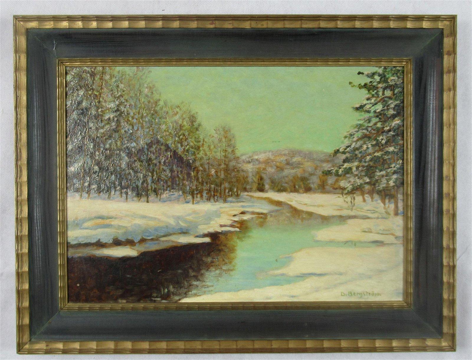 D. Bertgstrom oil painting