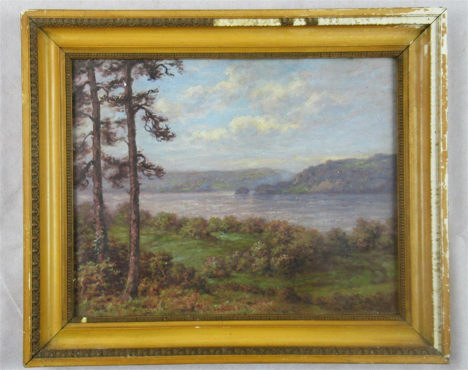 John T. Randolph oil painting
