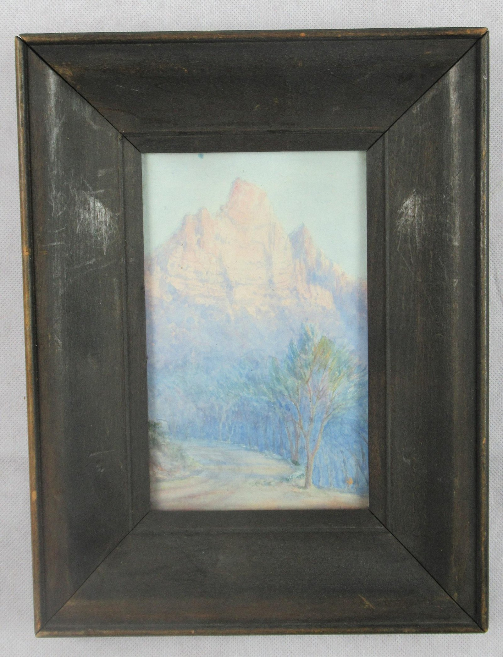A.E. Capell oil painting