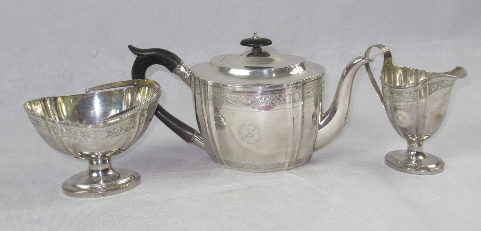 Very Good Georgian Silver Tea-set