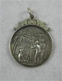 Rare & unusual silver medal 'College of Engineering,