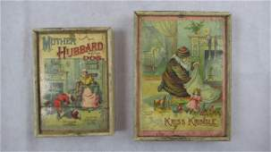 Two McLoughlin Bros, NY children's puzzle games