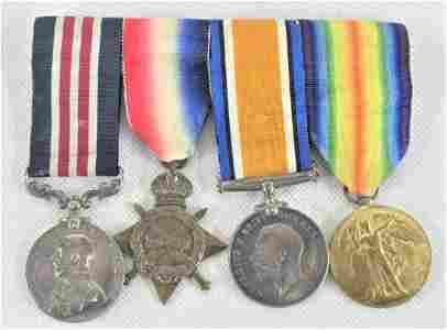 A Good WW1 Military Medal Group