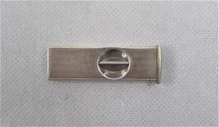A Sterling Silver Cigar Cutter