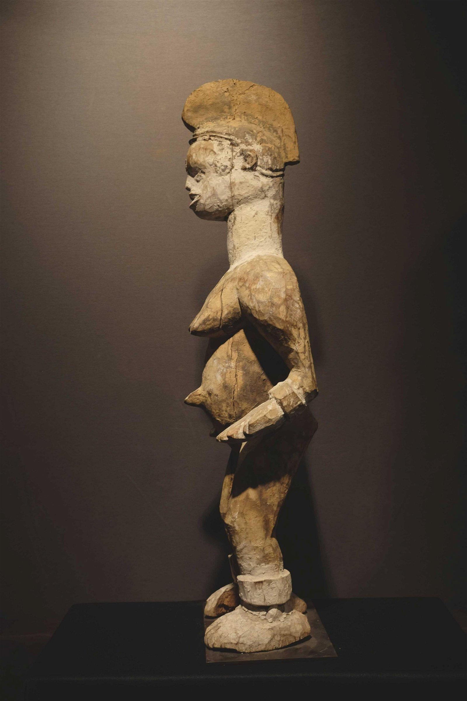 Ibo female figure NigeriaProv: Taitt collection