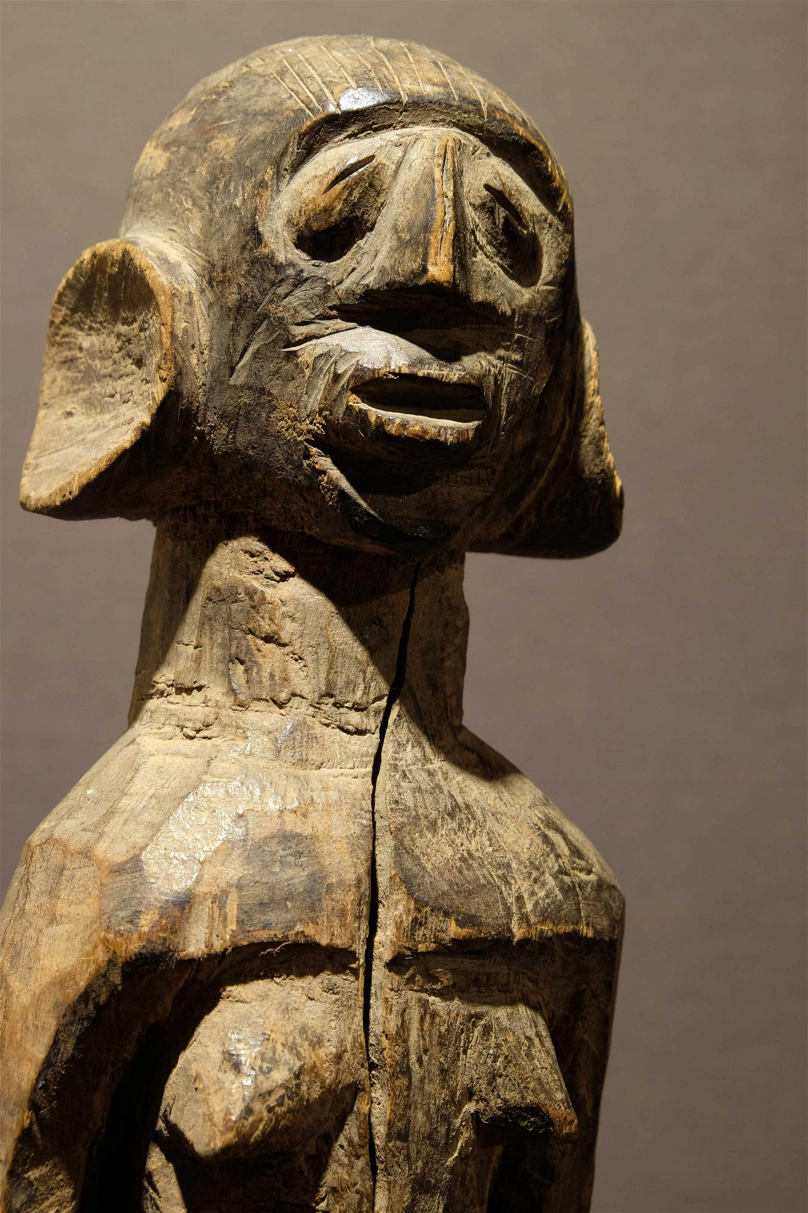 A small Mumuye Figure Prov: Taitt collection