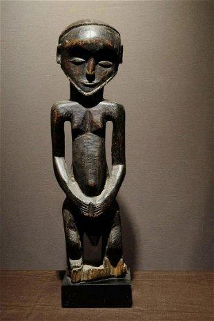 A XIXth century Hemba Kusu figure   Prov: Kahan Gallery