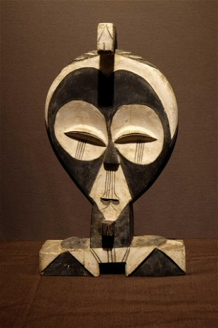 Kwele Style Head Gabon   Prov: Frédéric Coppin