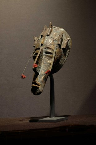 Marka Ntomo mask  Prov: Philip Budrose collection