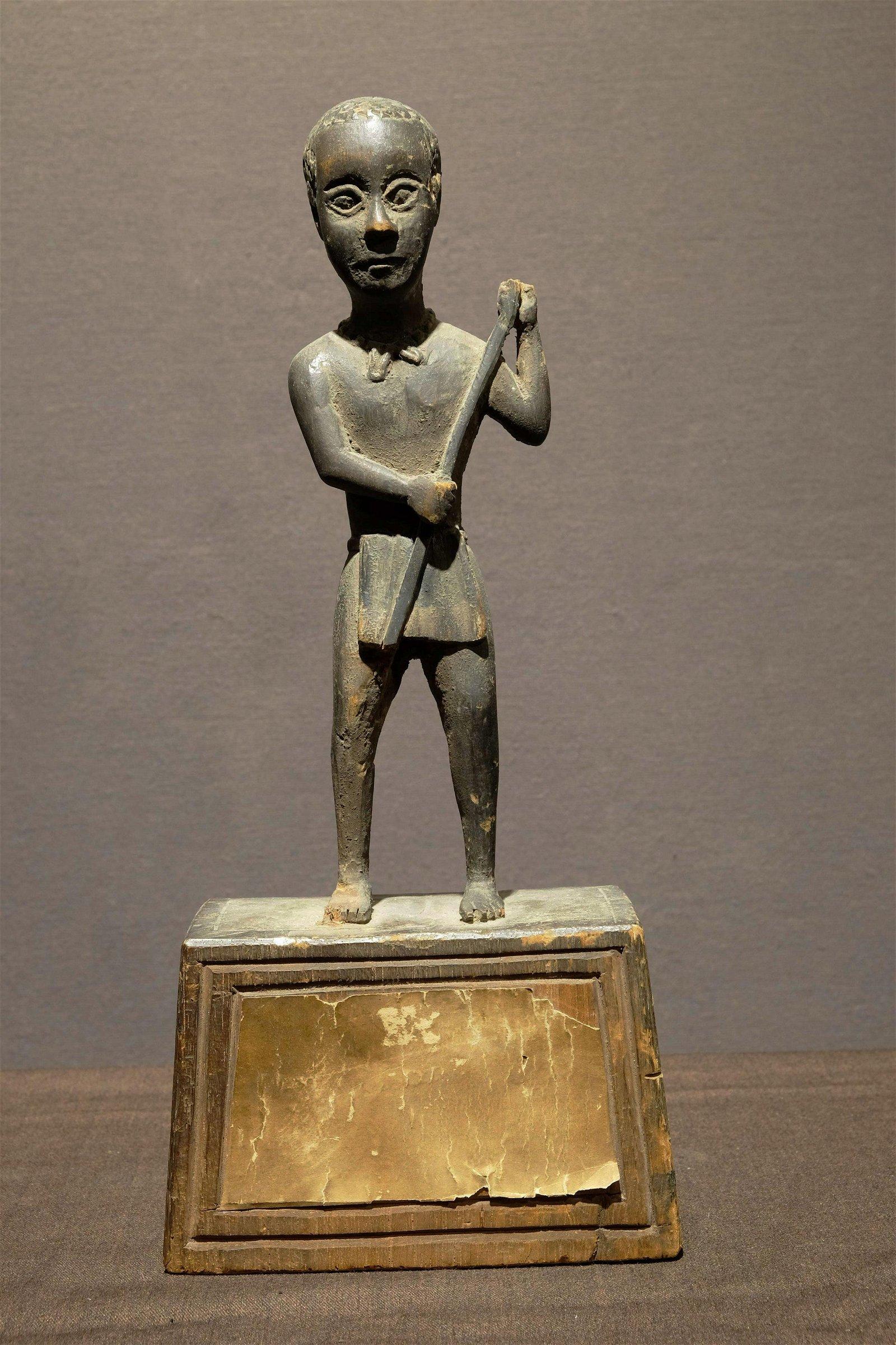 Old Madagascar peddler figure