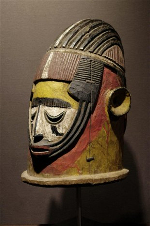 A fine Igala Mask  Prov: René David Collection