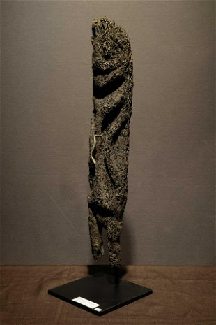 Vanuatu Ambryn Islands Graded Society Fern Figure