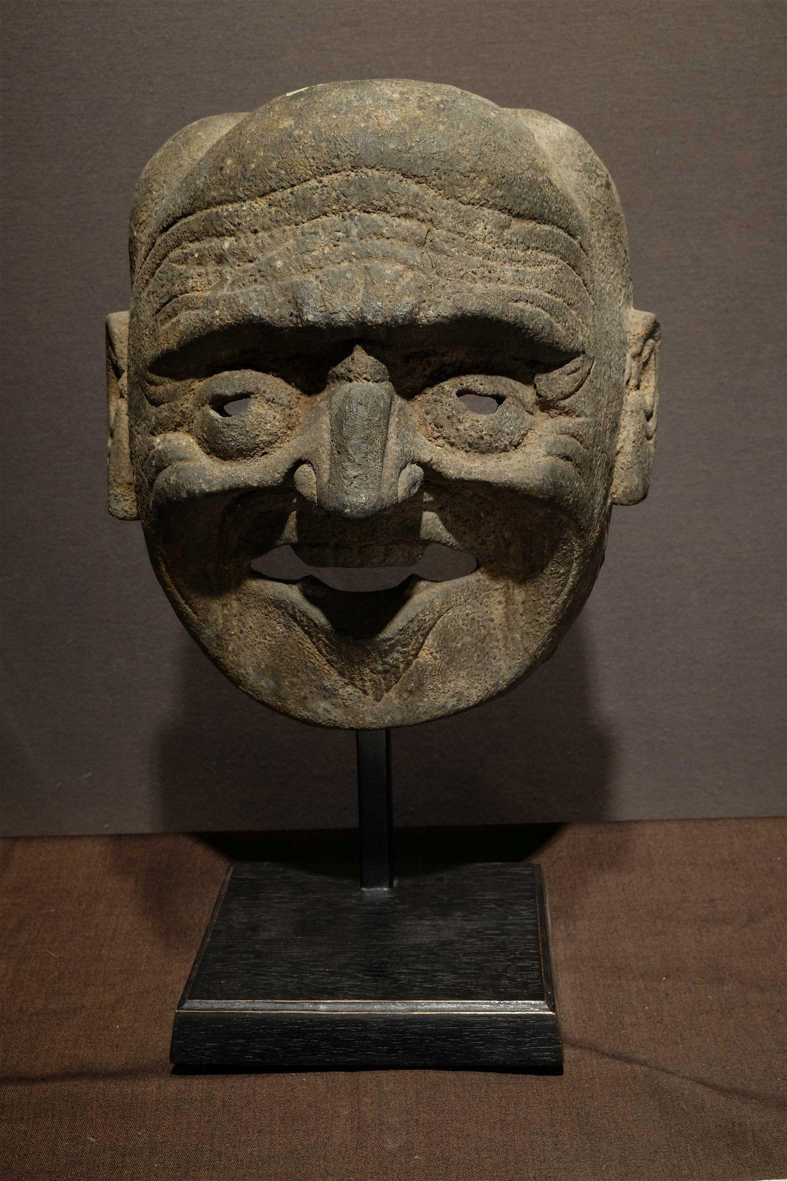 Mompa Mask, Bhutan South Tibet.