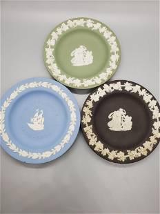 3 Wedgwood 425 Plates