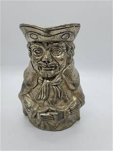 Toby Jug Silver Plate