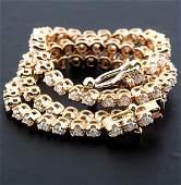 14K 0,91 ct Diamond Tennis Bracelet