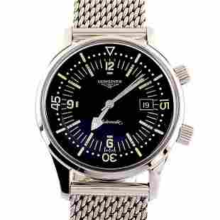 Longines / Legend Diver - Gentlmen's Steel Wrist Watch