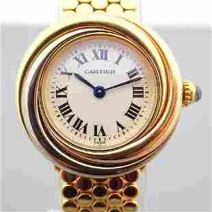 Cartier / Trinity - Lady's Yellow gold Wrist Watch