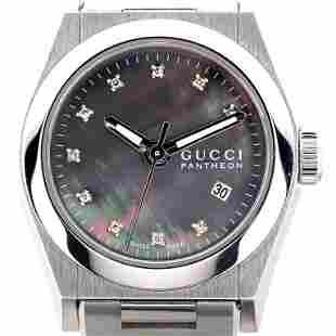 Gucci / PANTHEON Diamond - Lady's Steel Wrist Watch