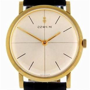 Corum / Vintage 18K / 5439 23 - Gentlmen's Yellow gold