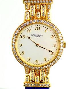 Patek Philippe / 18K Calatrava Diamond - Lady's Yellow