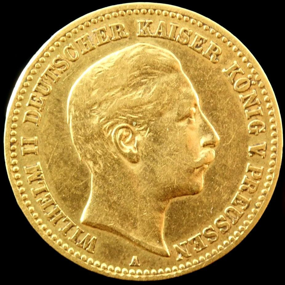 10 Mark - Wilhelm II