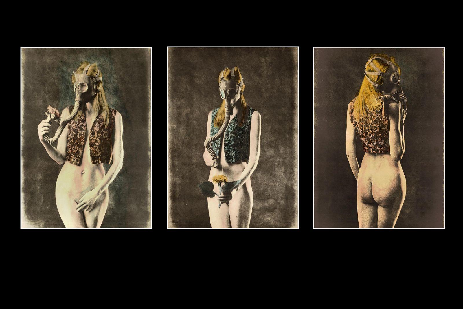 "YAROSLAV GOLUBCHIK""Triptych. About nature"""