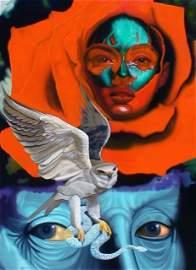 "AUGUSTO PODEROSI ""The Hawk`s eyes"""